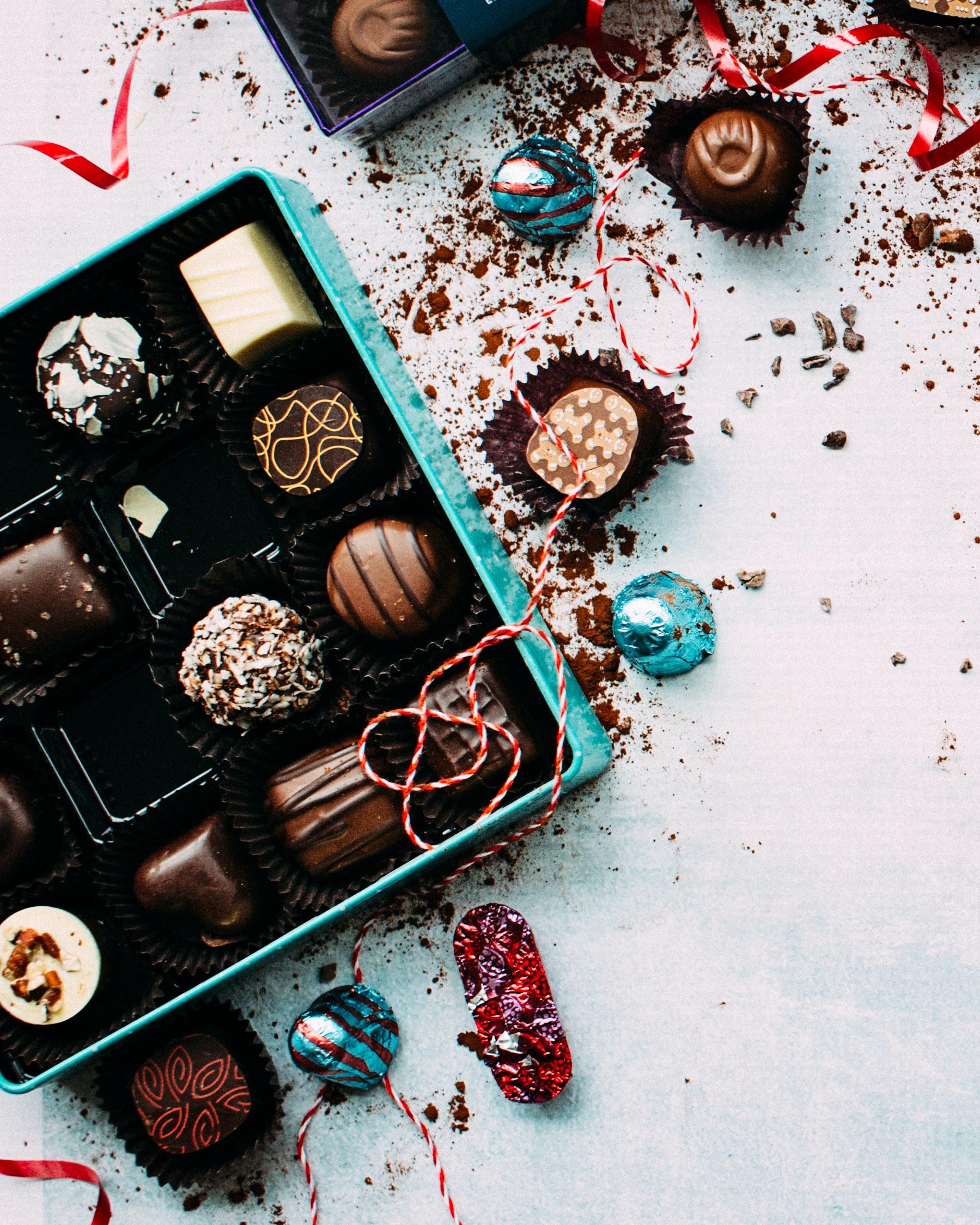 box of bonbons