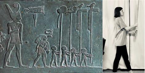 Recreation of Palette of King Narmer