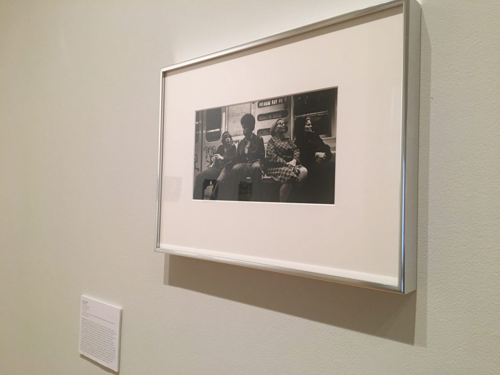 Roger Caban's photograph at the gallery