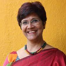 Kashmira Jaiswal, a school administrator in western India, who spent Spring 2015 at the College via the International Leaders in Education Program (now known as the Fulbright Distinguished Award for Teachers Program) to learn new ways to engage students